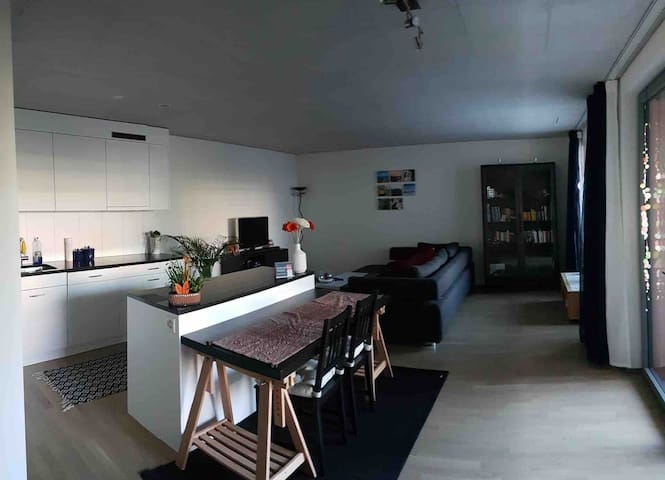 Urban apartment, close to Zurich-City (15 minutes)