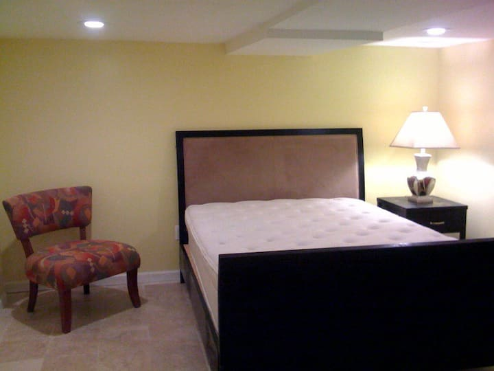 Furnished Basement with Private Bathroom & Entry