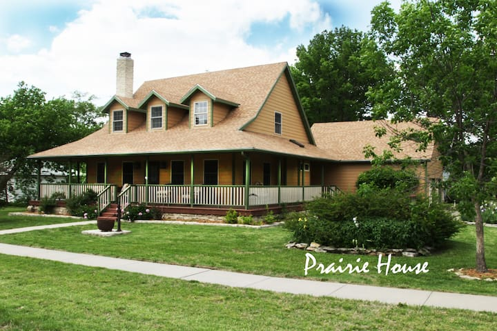The Prairie House in The Flint Hills