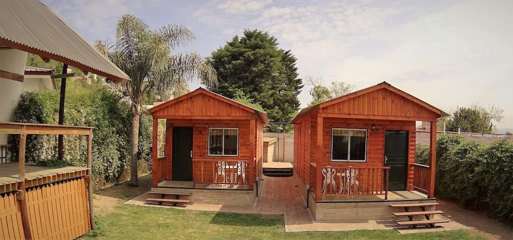 Cabaña 57B (cabaña c/WiFi & TV+Quincho & Piscina) - Villa Carlos Paz