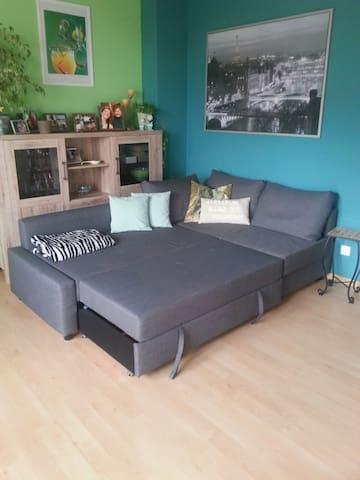 Gemütliche Couch zu vermieten. - Gärtringen - Lain-lain