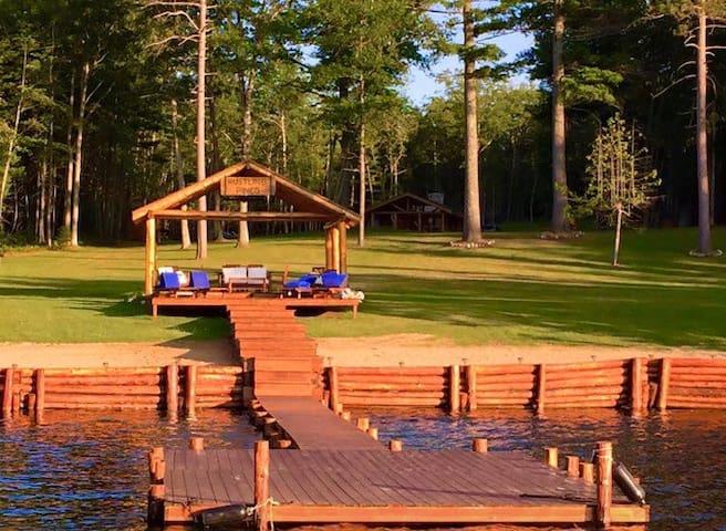 1940's Restored Log Cabin/ 80 acres