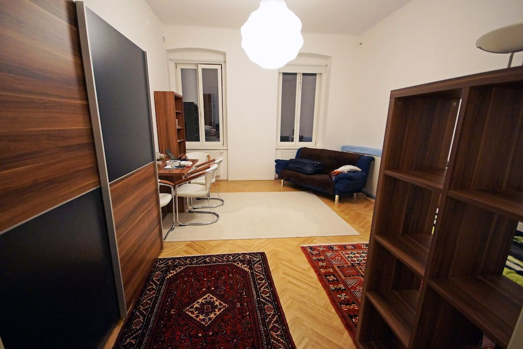 Your spacious room