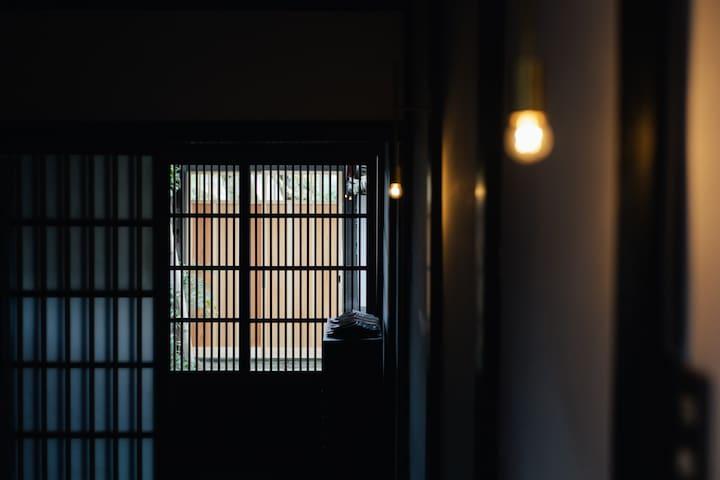 定員2名一室|2019.12月OPEN 丹波篠山城下町 中心地にある築100年以上の宿。