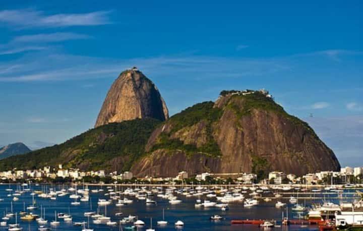 Praia Botafogo ao lado do shopping. wifi,Smart TV