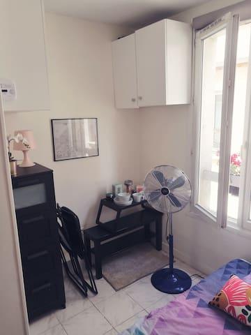 PRIVATE ROOM inside studio #studio #paris #private #room