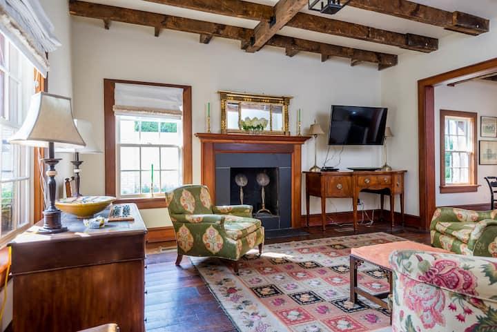 Historic and elegant Morrison Cabin built in 1787