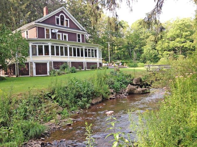 Art-Filled Farmhouse w/ Charm on Pristine 90-acres