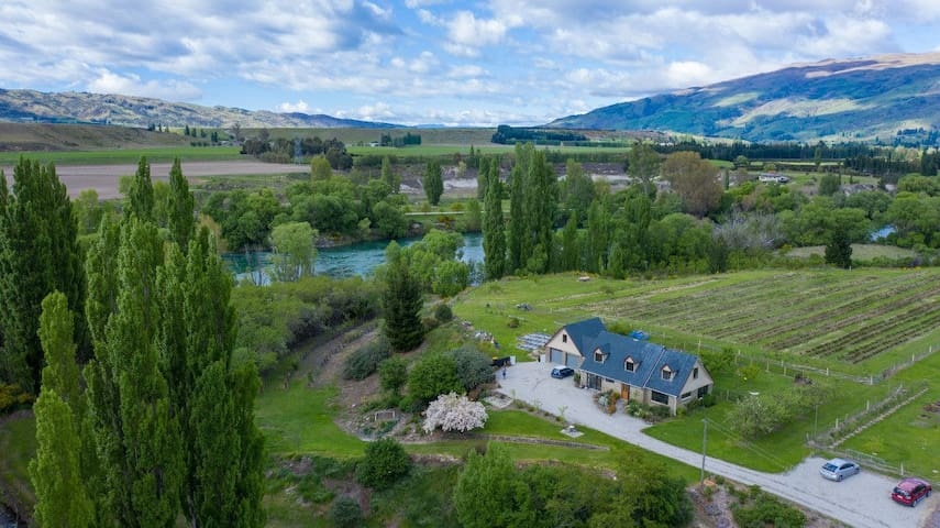 Coal Creek Flat - on the banks of the Clutha River