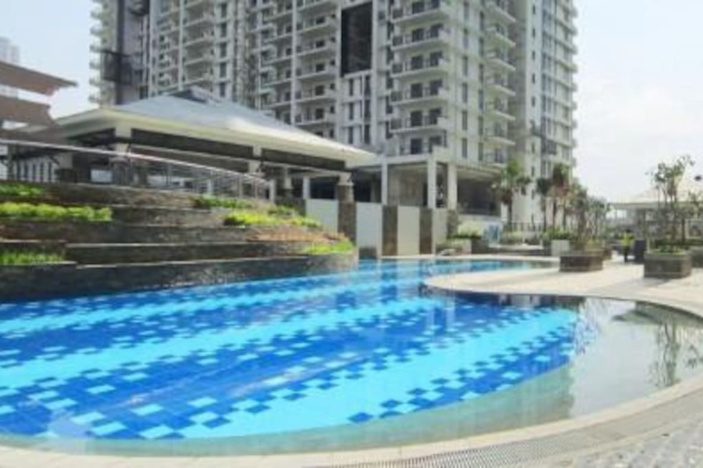 Relax in the leisure pool for only minimal fee of P200