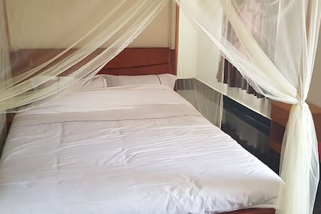 All rooms nearly fitted with mosquito nets