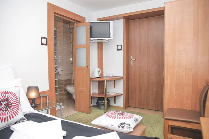 On the beach | Double room - Sopot - Rumah