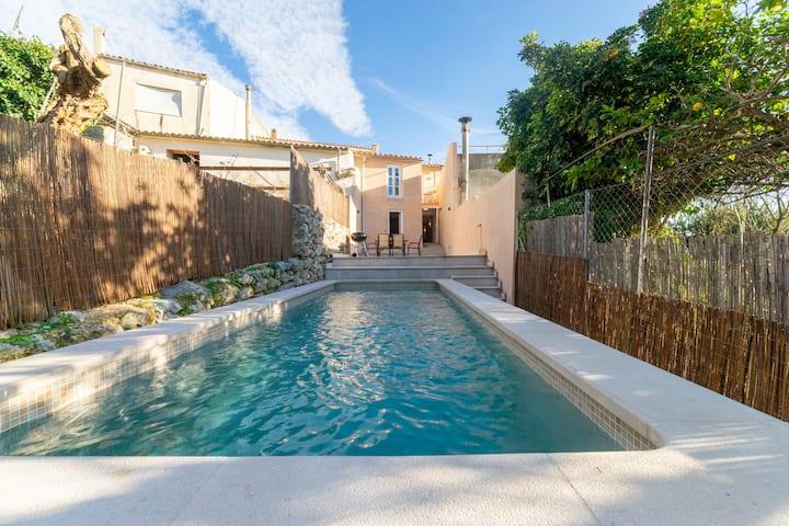 Casa con piscina privada en Campanet (Es Mirador)