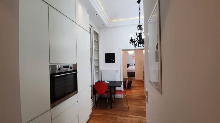 Fully equipped 2-room apartment with cosy terrace