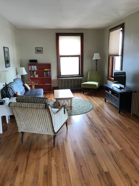 Village Apt near Lake Champlain