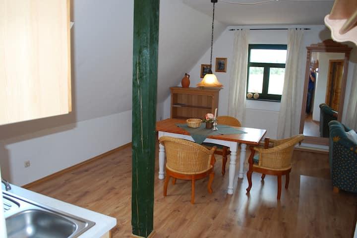 Restful Apartment in Dargun Mecklenburg with Swimming Pool