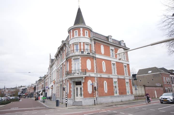 Gezellig appartement aan de singel in Breda.