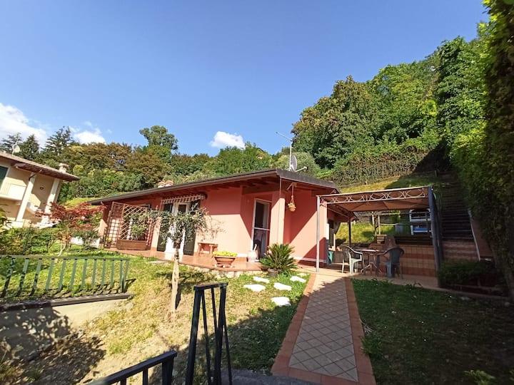 Le Balze - Casa con vista a Sulzano