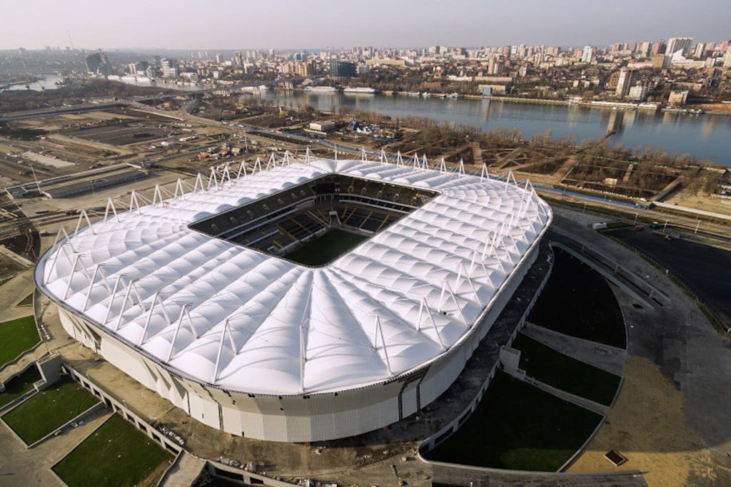 STADIUM ROSTOV ARENA          WORLD CUP 2018