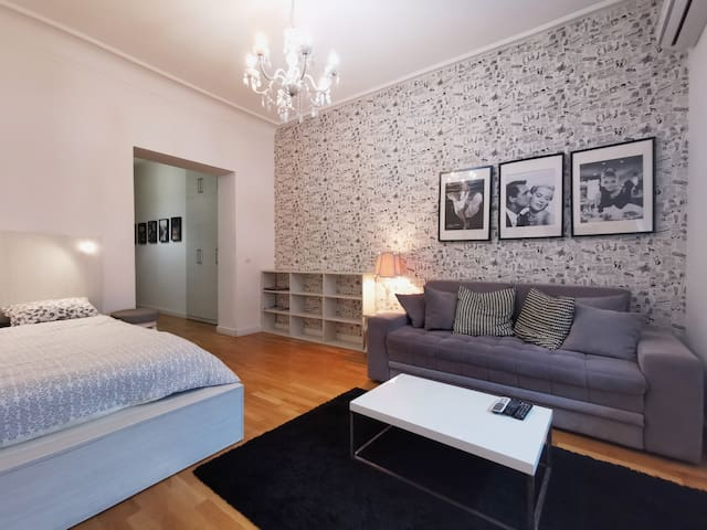 Savamala City Center studio & free private parking