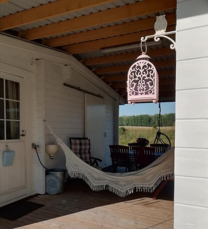 Solsidan, a summer room close to nature