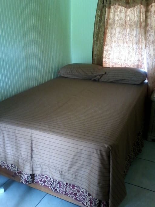 Comfortable twin bed