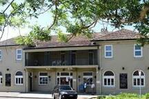 The iconic Husky Pub