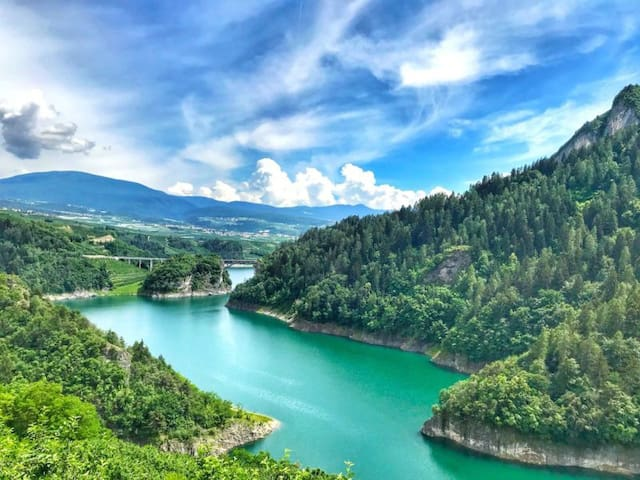 Lago di Santa Giustina