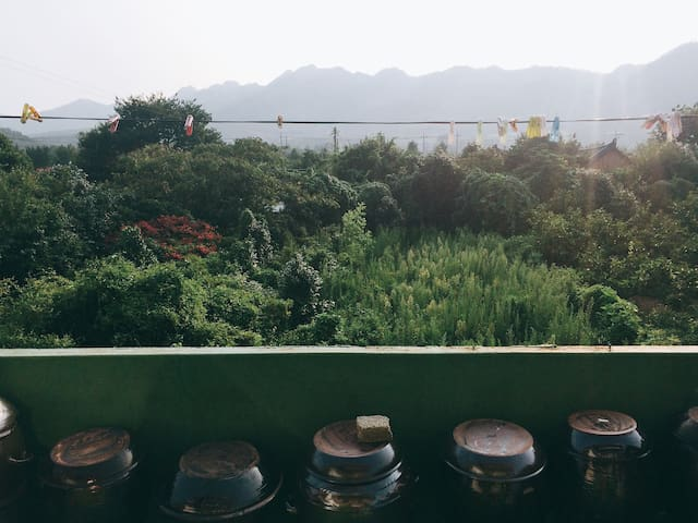 우리민박 : ) 덕룡산이 보이는 남도의집에서 하룻밤을