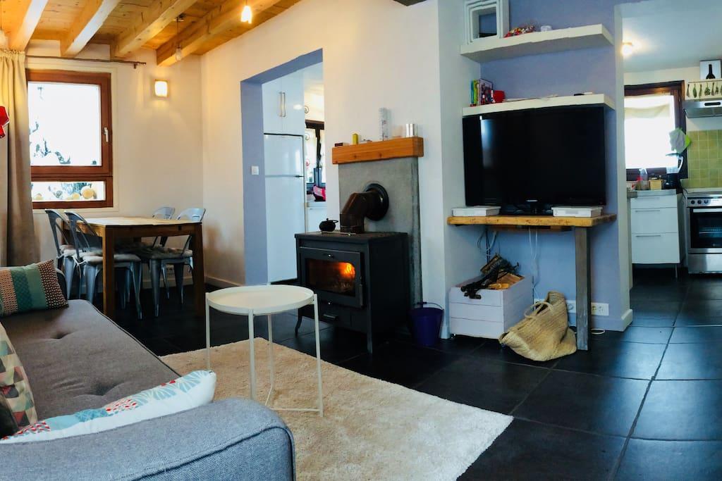 2 m2 rdc chalet bois appartements louer chamonix mont blanc. Black Bedroom Furniture Sets. Home Design Ideas