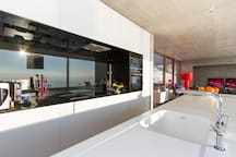 Design and open kitchen