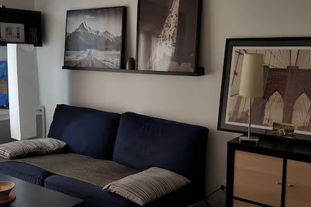 Bel Appartement 2 pièces + grande terrasse