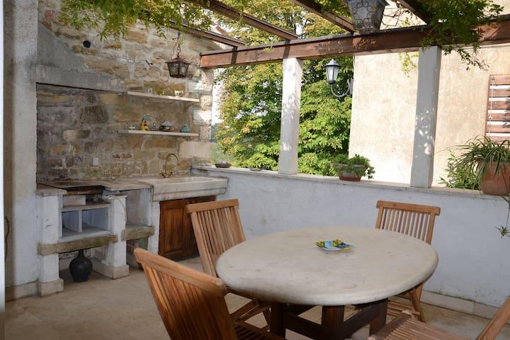 VILLA ANTICA amazing stone house - Grožnjan