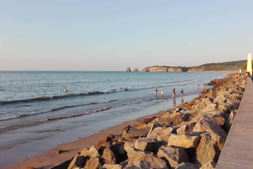 La preciosa playa