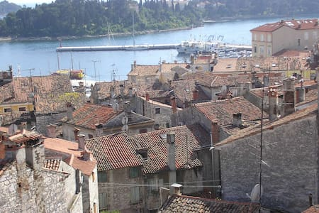 Rovinj-Studio with a roof top view! - Rovinj
