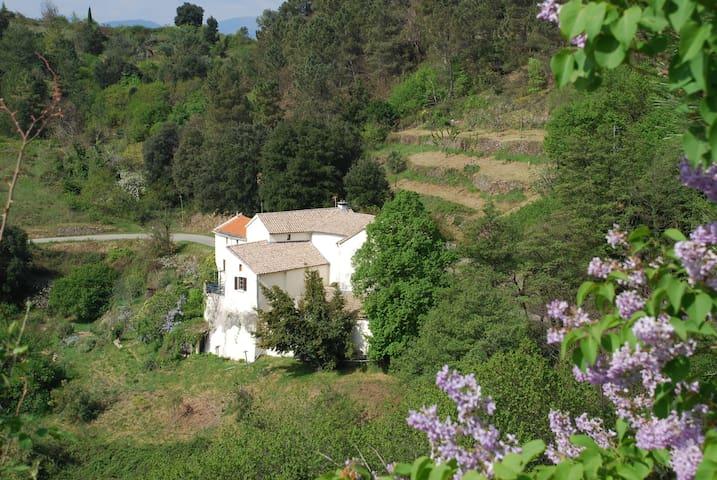 La Maison Blanche - Malbosc - Dům