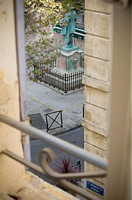 Terrasse sur les toits d'Arles