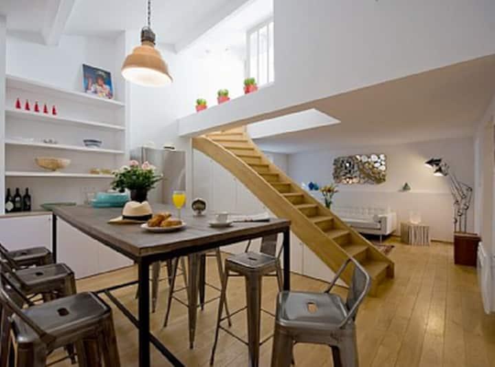 Superbe Duplex-terrasse Arlésien !!