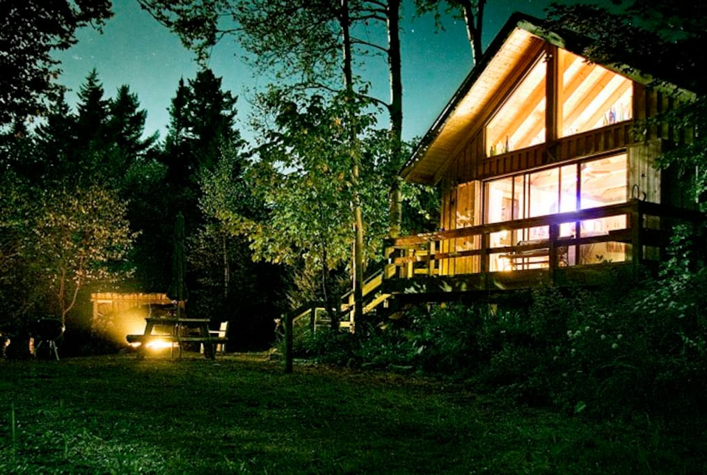 Romantic vermont mountain top cabin cabins for rent in for Vermont mountain cabins