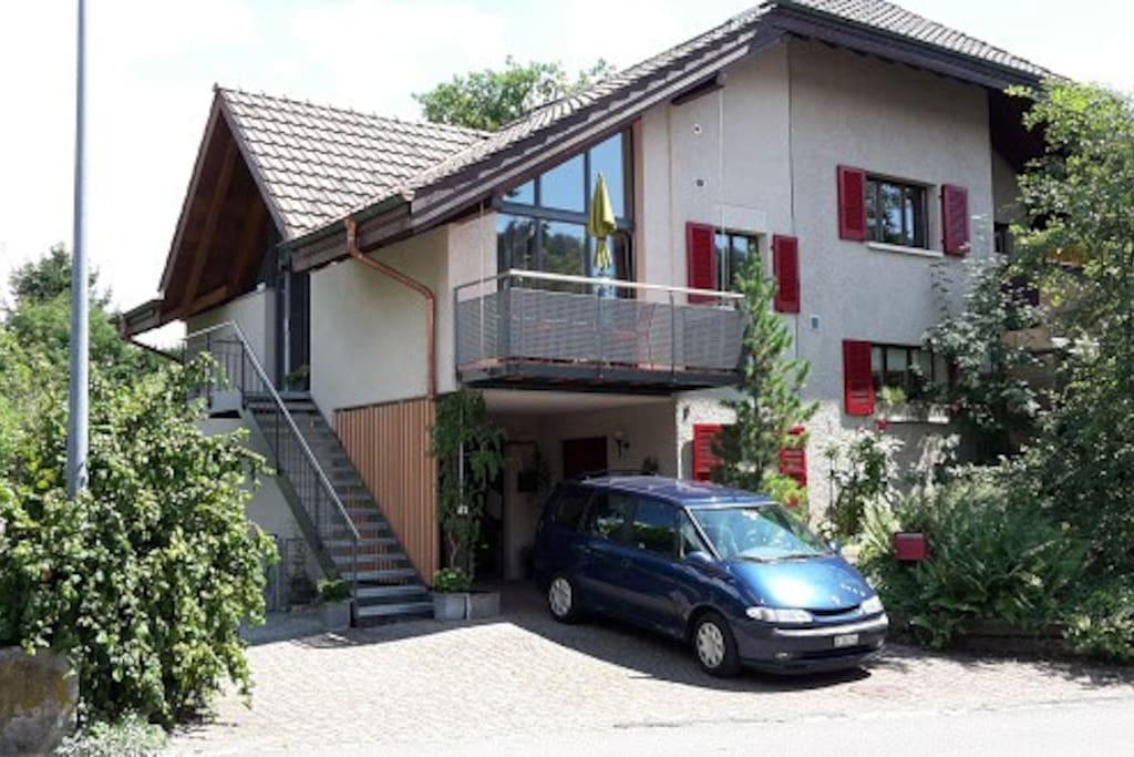 kleine unterkunft zum drahtesu wohnungen zur miete in m nsingen bern schweiz. Black Bedroom Furniture Sets. Home Design Ideas