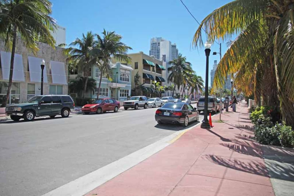 2nd and Collins ave.