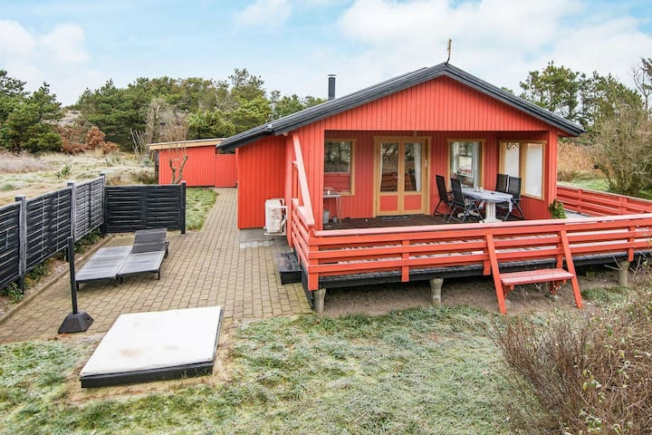 Simplistic Holiday Home in Henne with Sauna