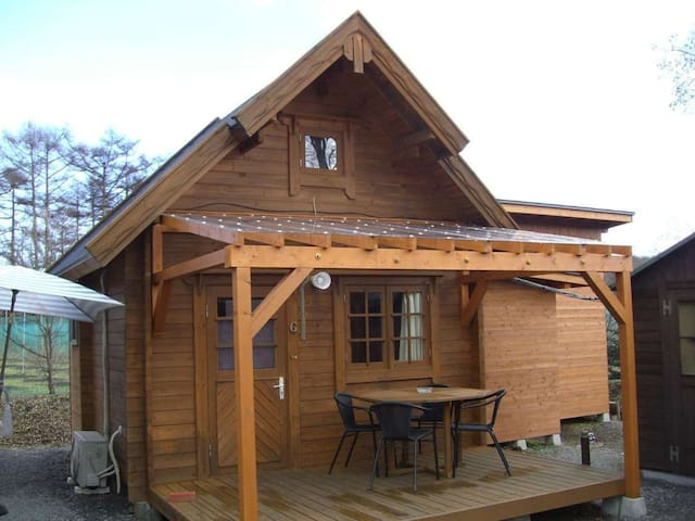 KARUIZAWA Pension HIMAWARI! Stay in a Cottage, and have a BBQ!!! 飲食持ち込みOK!【G】