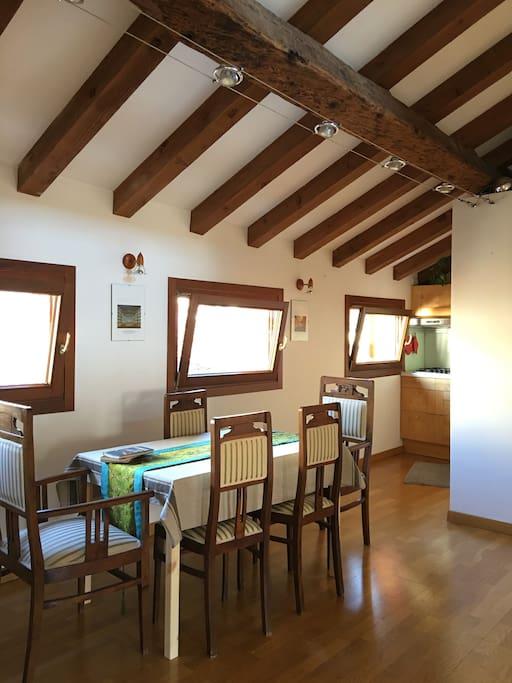 Dining room - kitchenette