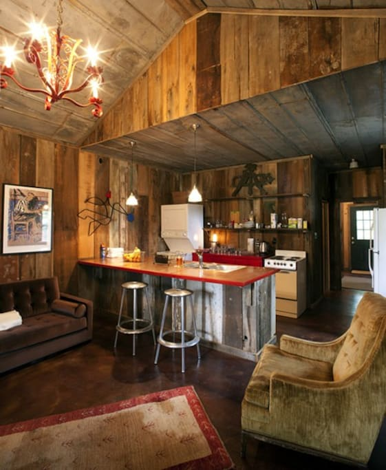 The Henry Shack | Living Space