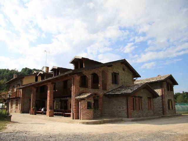 Farmhouse rooms with bathrooms - Chiusa di Pesio - Bed & Breakfast