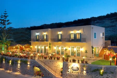 Boutique Guest House with Restaurant & Sea Views - Kaliviani
