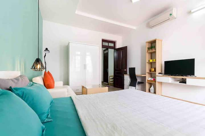 NICE STUDIO WITH BALCONY - THAO DIEN D2