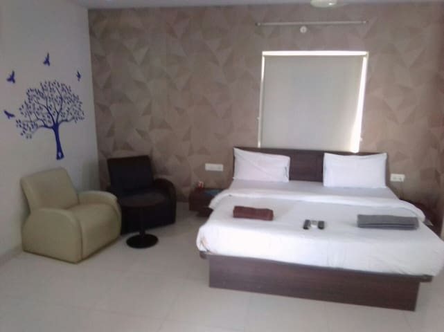 Beautifully furnished studio flat 1bhk apartment