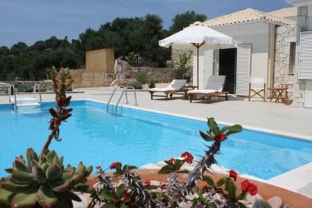 Villas complex in Meganissi- 1st  - Lefkada